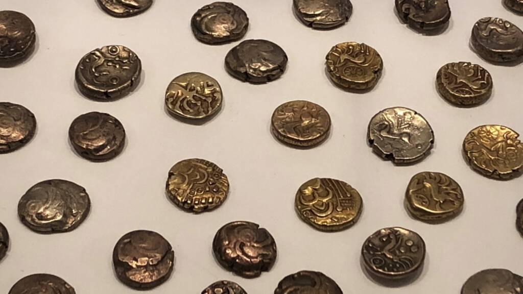 Keltische munten verstopt voor Caesar in Sittard-Geleen, ca. 51 v. C.
